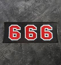"HELLS ANGELS Support 81 Patch Aufnäher ""666"" P16"