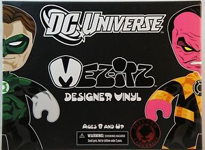 Mezco Green Lantern DC Green Lantern vs. Sinestro Mez-Itz SDCC 2011 2-Pack