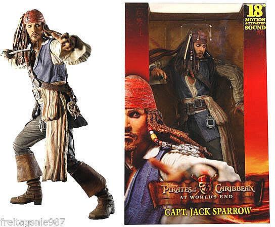 POTC JACK SPARROW AT WORLD´S END 45cm action-figure Neca