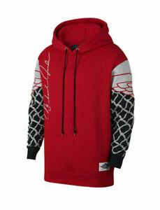 b17fb3c046 Image is loading Nike-Jordan-Sportswear-Pinnacle-Mens-Pullover-Hoodie-Red-
