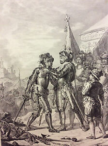Battle-of-Renty-1554-Henri-II-the-Order-st-Michael-choose-Marechal-Tavannes