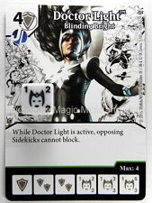 Green Arrow Flash DOCTOR LIGHT Blinding Bright #54 DC Dice Masters card