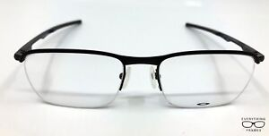 f8acda73382 Oakley OX3187-0151 Conductor 0.5 Satin Black Eyeglasses New ...