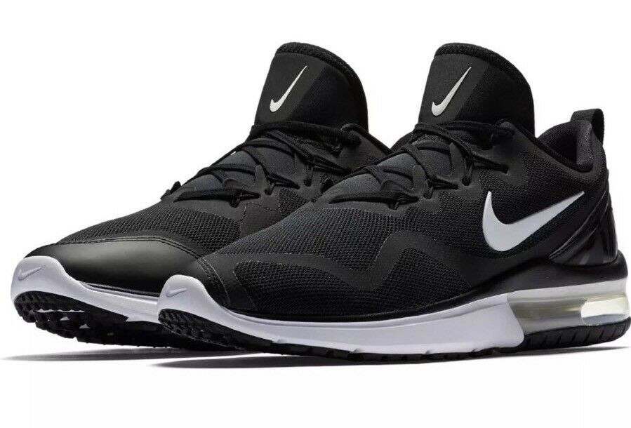 120 Running Nike Air Max Fury Black/White Men's Size 13 Running 120 Shoes New AA5739 001 a4ae0f