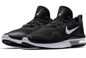 competitive price 48b26 be60e Image is loading 120-Nike-Air-Max-Fury-Black-White-Men-
