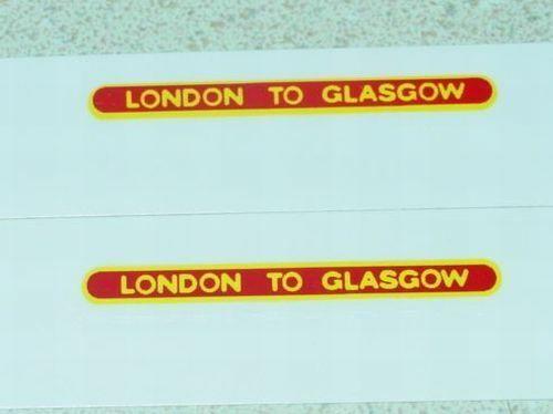 Matchbox 21B Long Distance Coach Sticker Set       MB-21B