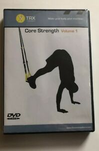 TRX-CORE-STRENGTH-PROGRAM-VOLUME-1-DVD-Includes-Workout-Guide-NEW