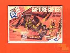 "GI Joe Capture Copter 2x3"" fridge/locker magnet Hasbro box art"