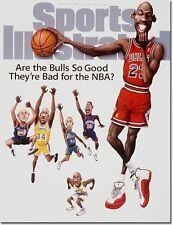 March 10, 1997 Michael Jordan, Chicago Bulls Sports Illustrated A