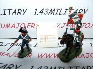 SOLDAT-de-plomb-DEL-PRADO-1-50-AUSTERLITZ-Napoleon-lot-n-40-cavalier-soldat