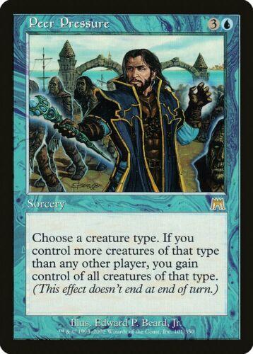 Peer Pressure Onslaught PLD Blue Rare MAGIC THE GATHERING MTG CARD ABUGames