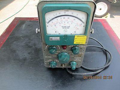 Vintage Radio signal analizer. Sq law detector.  Ramcor inc.   FXR Type B812A