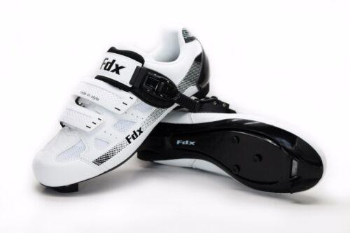 FDX Cyclisme sur route Chaussures De Cyclisme Lock-Slip Respirant Léger Vélo Chaussures