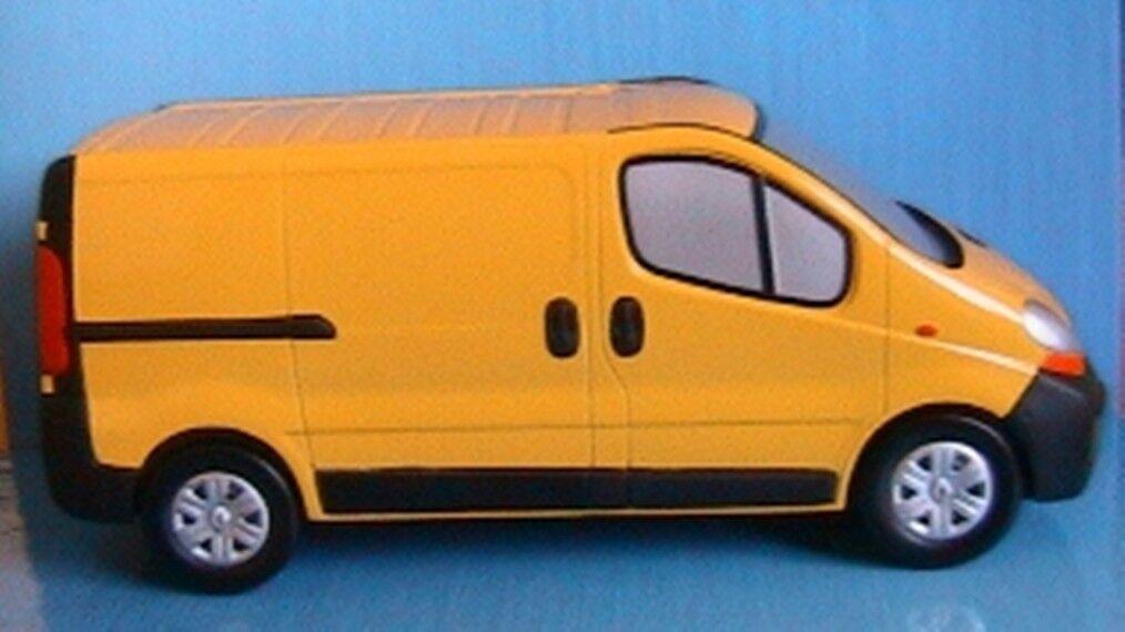 precios ultra bajos RENAULT TRAFIC TRAFIC TRAFIC II TROPHEE amarillo TOLE NOREV 518090 1 21.5 SOCLE PLEXI SCULPTURE  mejor opcion