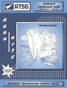 a604 41te transmission rebuild book guide manual diagnostic atsg rh ebay com dodge dakota manual transmission rebuild dodge 46re transmission rebuild manual