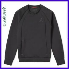 item 1 Nike Jordan Flight Tech Crew Jumper Sweatshirt Black Size Large  879495-010 -Nike Jordan Flight Tech Crew Jumper Sweatshirt Black Size Large  879495- ... 0e0f5b0f6