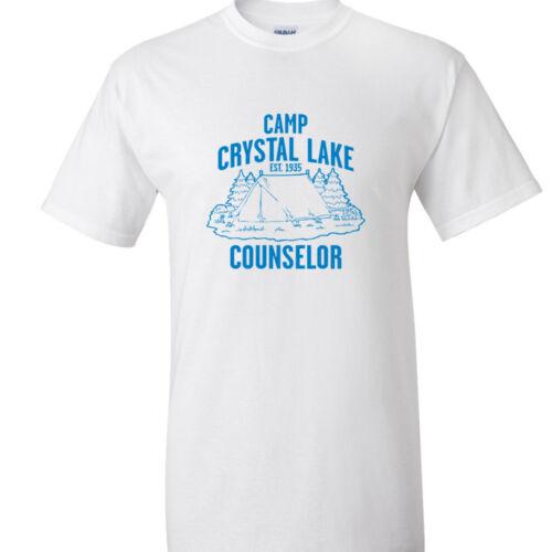 Friday the 13th Movie T-Shirt Camp Crystal Lake Counselor T Shirt Jason Fan Tee