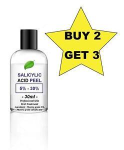 30ml Salicylic Acid Skin Peel BHA - Acne - your choice of % - BUY 2 GET 3