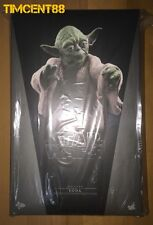 Ready Hot Toys MMS369 Star Wars V The Empire Strikes Back Yoda 1/6 Figure