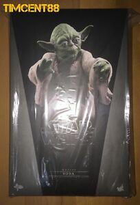 Ready-Hot-Toys-MMS369-Star-Wars-V-The-Empire-Strikes-Back-Yoda-1-6-Figure