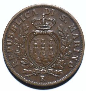 1936 San Marino Ten 10 Centesimi - Lot 2014