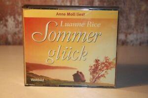 Anne-Moll-liest-SOMMER-GLUCK-von-Luanne-Rice-CD-HORBUCH-auf-4-CD-039-s