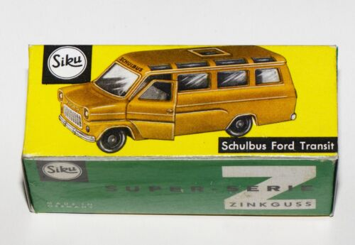 Schulbus Ford Transit Reprobox Siku V 334
