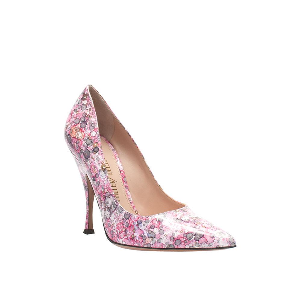 forniamo il meglio NEW Palter Deliso rosa Multi Patent Pumps Heels Dimensione 6 6 6 (36) or 10 (40) anthropol  risposte rapide
