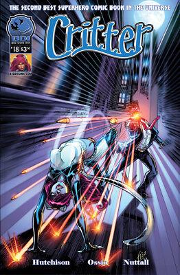 Critter #19 B Vol 2 Broomall Hutchison Ossio 1st Edition BDI Comic Book NM th3