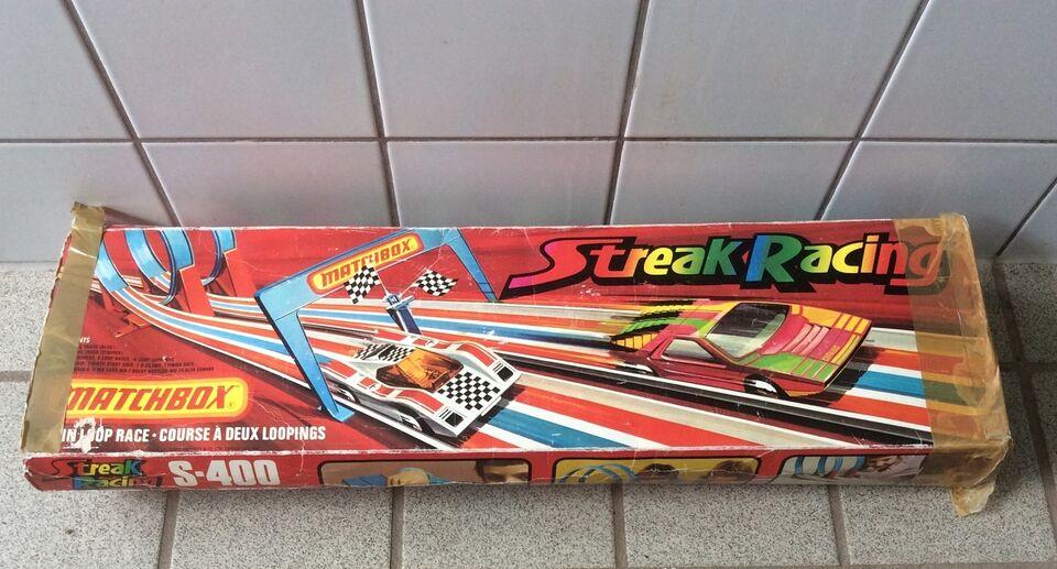 Racerbane, Streak Racing, Matchbox