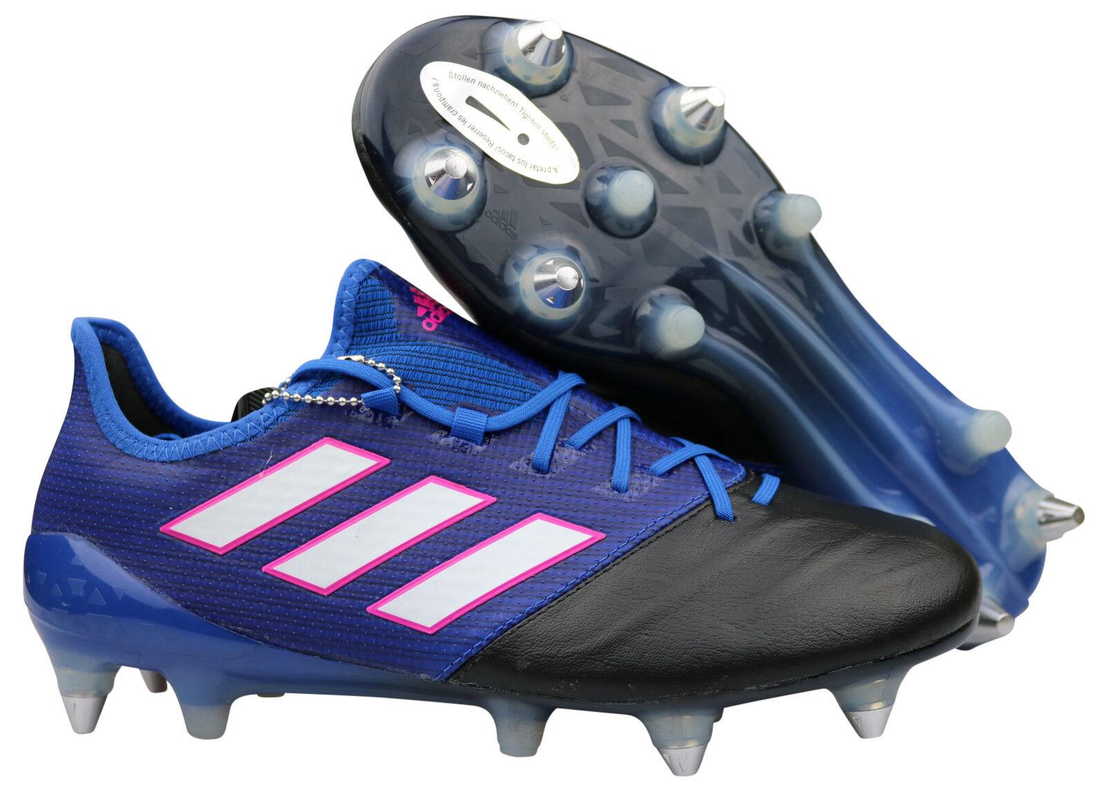 Adidas ACE 17.1 SG SG SG Fußballschuhe Leder Stollen blau BA9192 Gr. 39 - 48 2 3 NEU edef9e