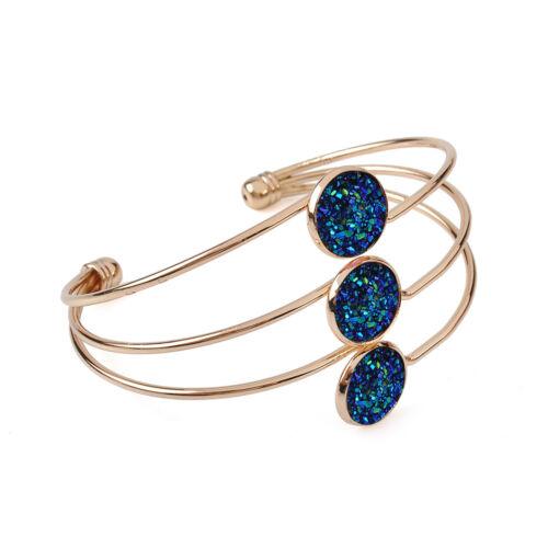 Women Girls Stainless Steel Wing Bracelet Adjustable Bangle Fashion Jewelry Gift