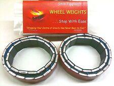 "Rock & Scale Crawler Wheel Weights 1.55"" wheels eg RC4WD Beadlocks 140g 4.9oz"