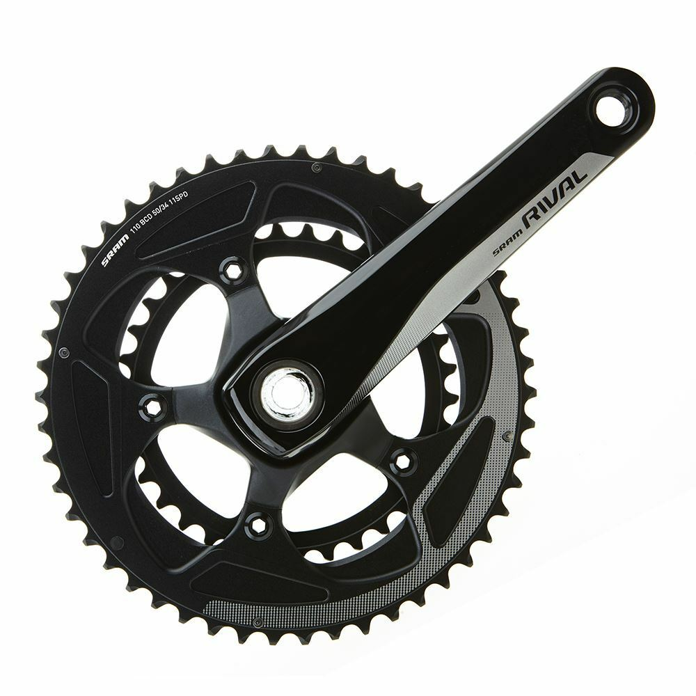 SRAM Rival22 Crank Set GXP 175 50-34 Yaw, GXP Cups NOT incl