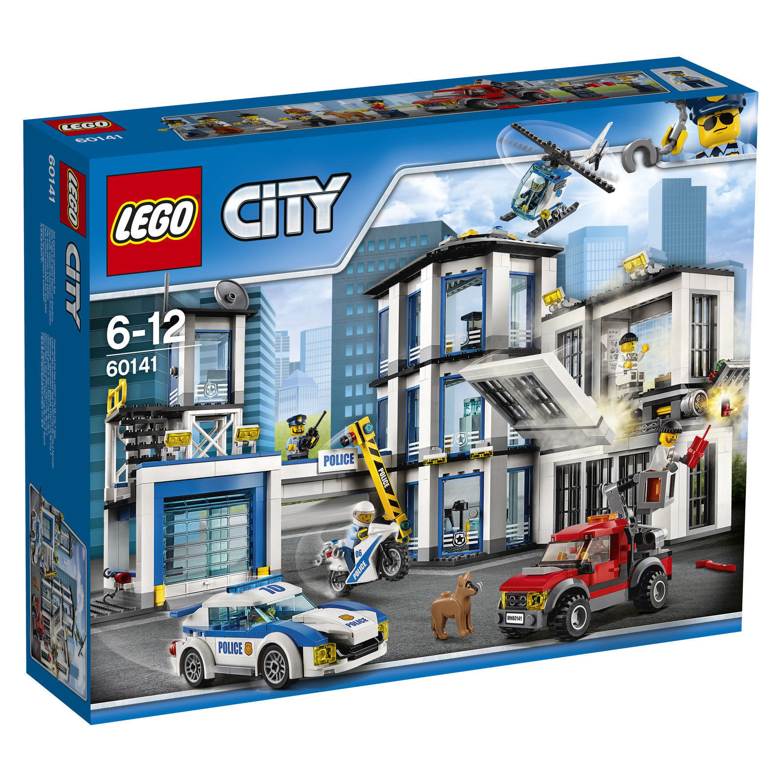LEGO® City 60141 Polizeiwache NEU & OVP