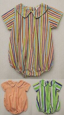 BABY GIRL/'S BOUTIQUE BUBBLE ROMPER SUN SUIT INFANT PAISLEY CHOICE NEW
