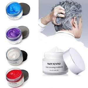 Hair Styling Wax For Women Men Women Trendy Hair Styling Wax Beauty Modeling Pomade Mud Clay .