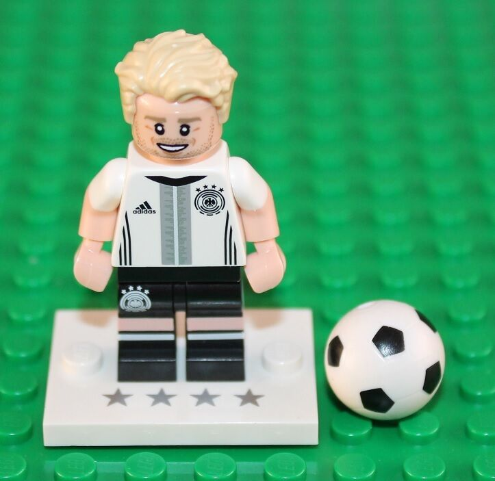 Lego 71014 Andre Schurrle Minifigure No 9 New Opened To Type Confirm