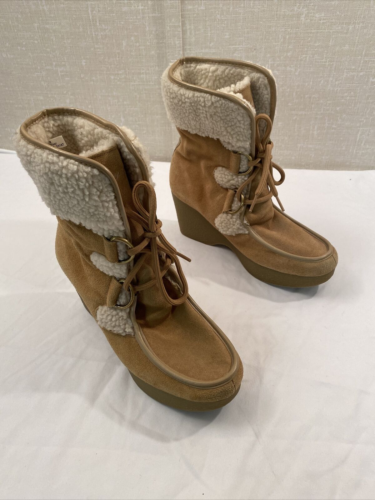 tommy hilfiger Brown boots women 8M - image 4