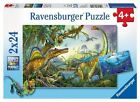 Ravensburger BRAND 2 X 24pc Puzzles - Prehistoric Giants