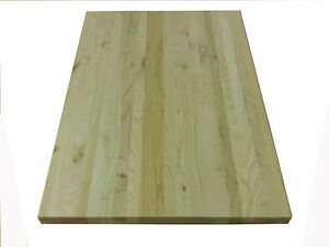 Maple Butcher Block 24 X 48 Counter Top Cutting Board Solid
