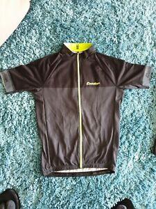 Cycling Jersey Condor London Mens Black flouro Size Medium