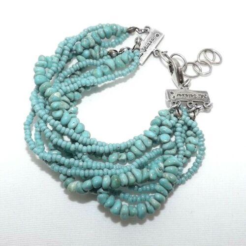 Mercedes Salazar Genuine Turquoise Stone Sterling