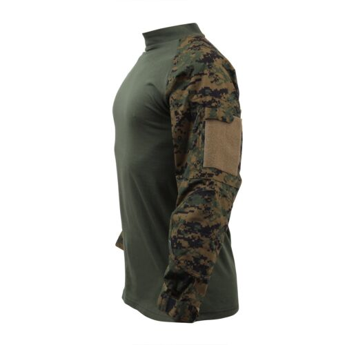 Airsoft Large Funsport US UCP ACU COMBAT Army USMC Woodland Digital MARPAT Shirt Hemd L