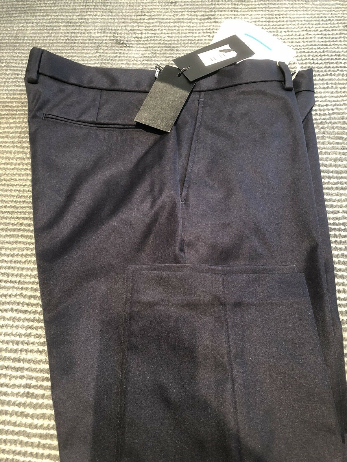 DAVID NAMAN PANTS TROUSERS NAVY blueE 32 NEW, Best Pants Ever - REDUCED