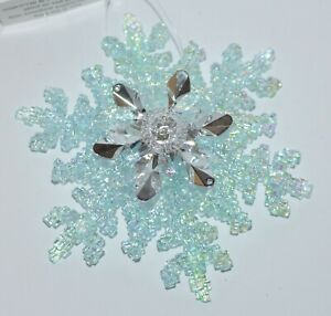 BATH-amp-BODY-WORKS-LARGE-BLUE-SNOWFLAKE-MAGNET-LARGE-3-WICK-CANDLE-DECOR-TOPPER