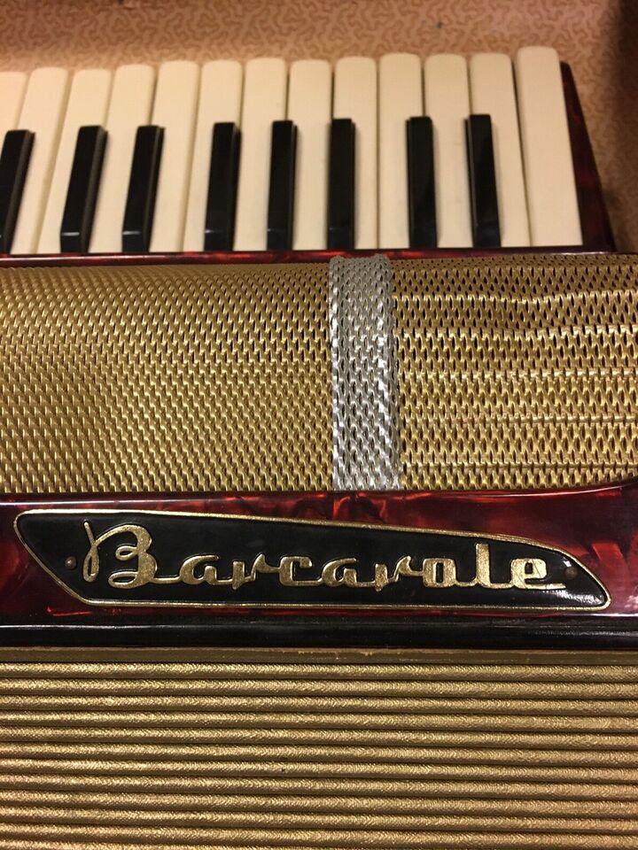 Tangentharmonika, Barcarole Topas ??