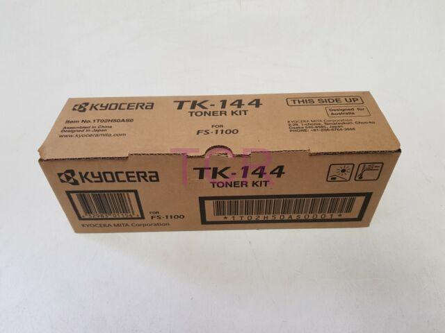 Kyocera Genuine TK-144 Black Toner for FS1100