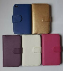 Book-style-PU-leather-case-cover-to-fit-ipod-Touch-4th-Gen-A1367