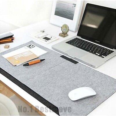 New Felts Office Desk Mat Desk Storage Organizer Table Pad